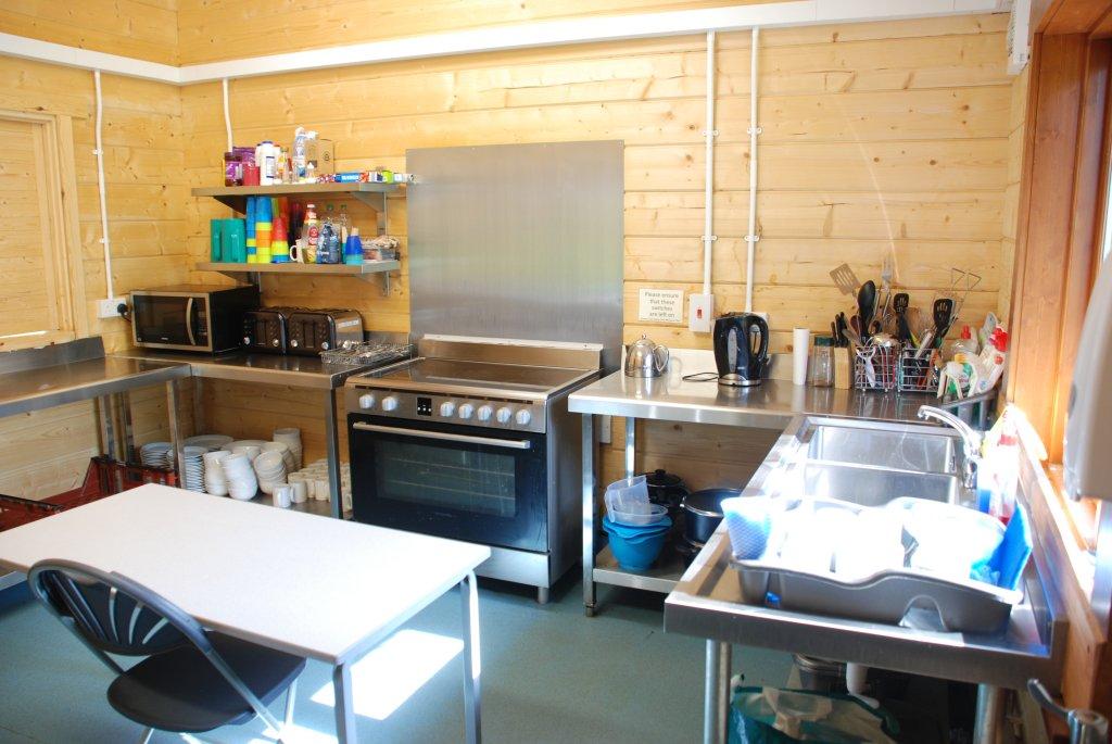 Knights Lodge kitchen